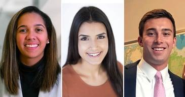 Left to Right: Gabrielle Williams, Kishori Turner, and Frederick Zaegel
