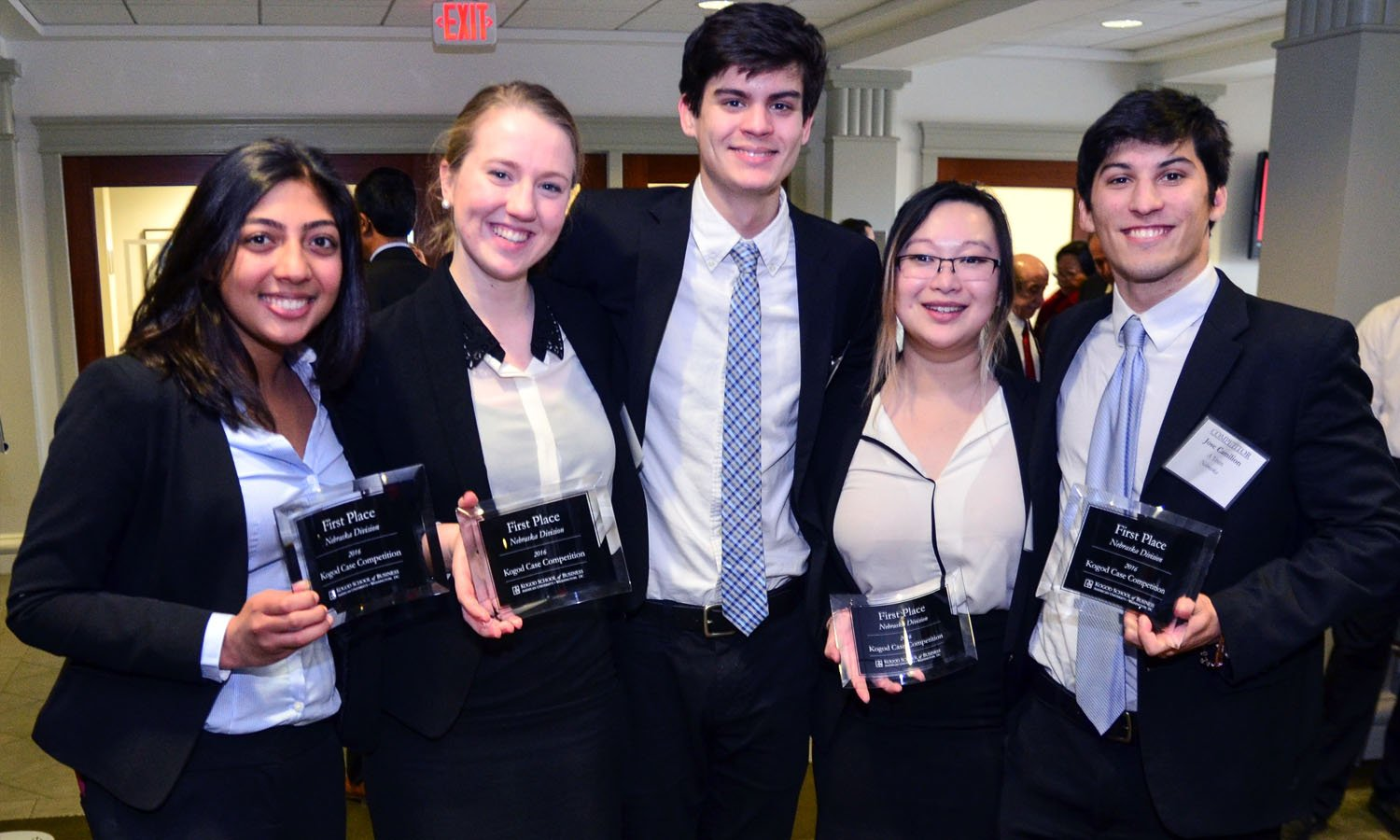 Winners of the Kogod Case Competition